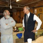 with Graeme at the Oatlands Community Men's Shed