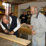 with Graeme 'on the tools' at the Oatlands Community Men's Shed